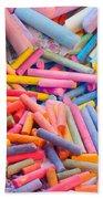 Chalk Colors Beach Sheet