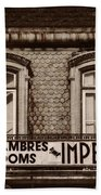 Chambres Imperial Lisbon Beach Towel
