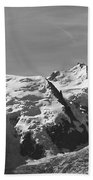 Chamonix Mont Blanc Beach Sheet