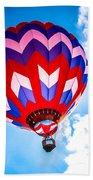 Champion Hot Air Balloon Beach Towel