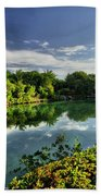Chankanaab Lagoon Reflections Beach Towel