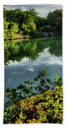 Chankanaab Mexico Lagoon Beach Towel