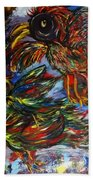 Chaos In Flight Beach Towel