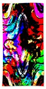 Chaos In My Mind Beach Towel