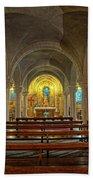 Chapel At Notre Dame Cathedral Verdun Beach Towel