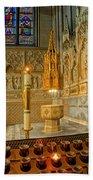 Chapel At Saint Patricks Cathedral Beach Towel