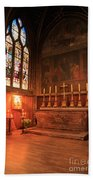 Chapel In St Severin Church Paris Beach Towel
