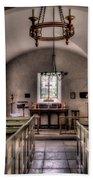 Chapel In Wales Beach Towel