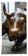 Charging Bull 1 Beach Sheet