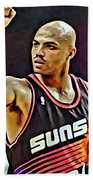 Charles Barkley Beach Towel