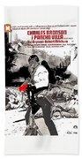 Charles Bronson Plays The Murderous Rodolfo Fierro In Viva  Rides 1968-2013 Beach Towel