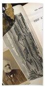 Charles Lyells Antiquity Of Man 1863 Beach Sheet