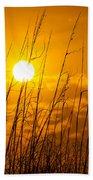 Charleston Beach Sunrise Beach Towel