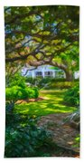Charleston Sc Gardens Beach Towel