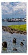 Charleston Harbor Beach Towel