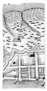 Charleston: Plan, 1704 Beach Towel