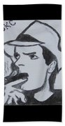 Charlie Sheen Beach Towel