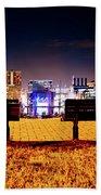 Charm City View Beach Towel