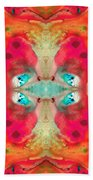 Charmed - Abstract Art By Sharon Cummings Beach Towel
