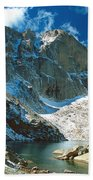 Chasm Lake Beach Towel
