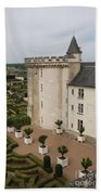 Chateau And Garden - Villandry Beach Towel