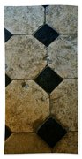 Chateau Brissac's Tile Floor Beach Towel