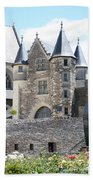 Chateau D'angers - Chatelet  Beach Towel