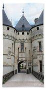 Chateau De Chaumont - France Beach Towel