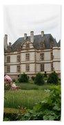 Chateau De Cormatin Garden Beach Towel