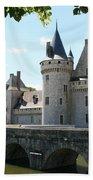 Chateau De Sully-sur-loire Beach Towel