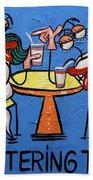 Chattering Teeth Dental Art By Anthony Falbo Beach Towel