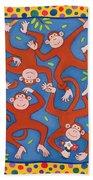 Cheeky Monkeys Wc Beach Towel