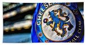 Chelsea Football Club Poster Beach Towel