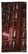 Chelsea Hotel Beach Towel