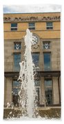 Cherokee County Courthouse 3 Beach Towel