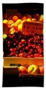 Cherries 299 A Pound Beach Towel