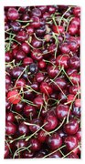 Cherries In Des Moines Washington Beach Towel