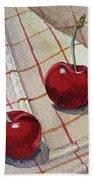 Cherry Talk By Irina Sztukowski Beach Sheet