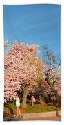 Cherry Blossoms 2013 - 015 Beach Towel
