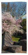 Cherry Blossoms 2013 - 058 Beach Towel