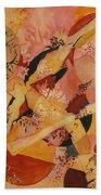 Cherry Blossoms Beach Towel
