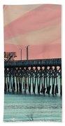 Cherry Grove Fishing Pier Beach Towel