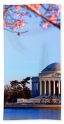 Cherry Jefferson Beach Towel