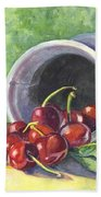 Cherry Pickins Beach Towel