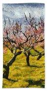 Cherry Trees 3.0 Beach Towel