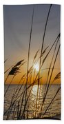Chesapeak Bay At Sunrise Beach Towel
