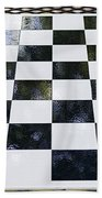 Chess In The Park Beach Towel