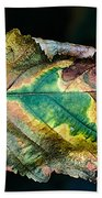 Chestnut Autumn Mosaic Beach Towel
