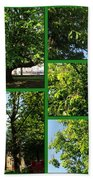 Chestnut Trees At Christchurch Beach Towel