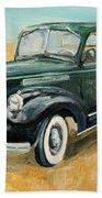 Chevrolet Art Deco Truck Beach Towel